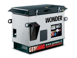 Генератор Wonder 12100KE VS + carb. heater, 9600/4000 Вт