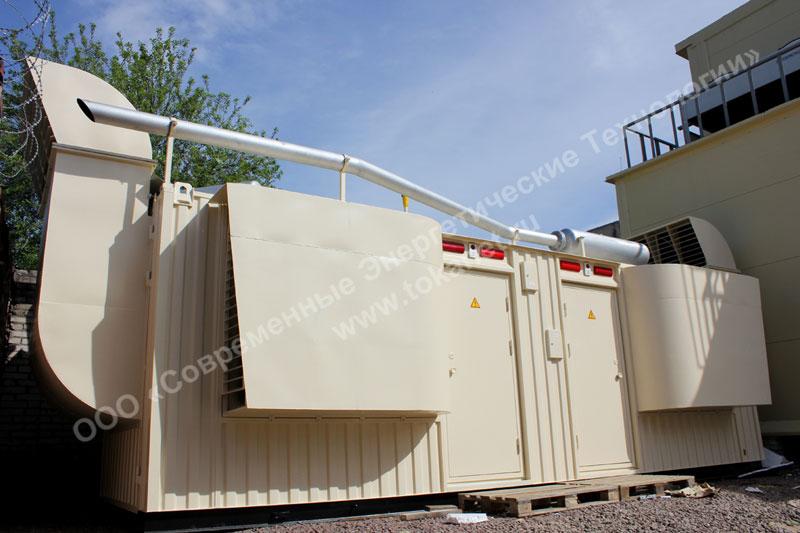 Tokanet.ru: Установка электростанции Genmac Star G100POA в контейнере (сеть пекарен-кондитерских Буше, г. Санкт-Петербург)